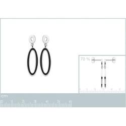Boucles d'oreilles acier 1...