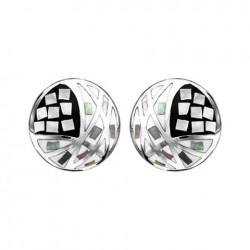 Boucles d'oreilles acier...