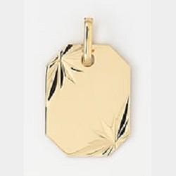 Plaque gravable or750/1000...