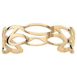 Bracelet acier JAUNE...