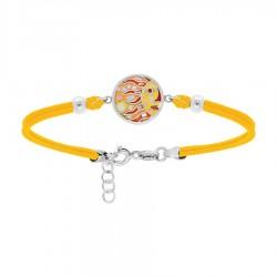 Bracelet acier et cordon...