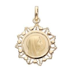 Médailles et croix plaqué...