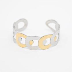 Bracelet acier JONC OUVERT...